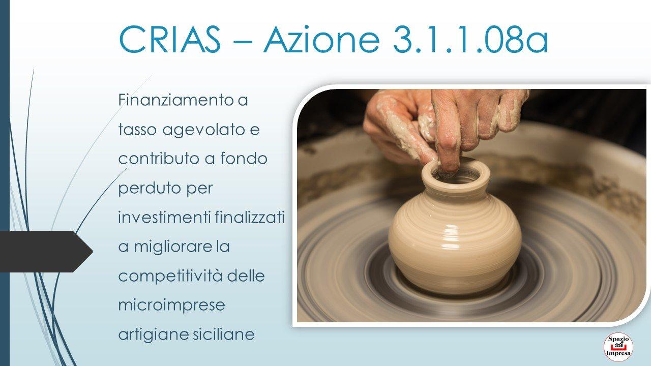 Crias Azione 3.1.1.08a