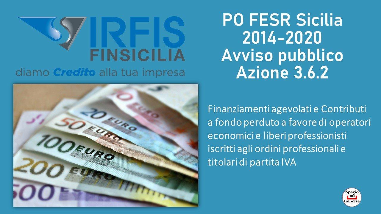 Agevolazione finanziaria: Irfis Azione 3.6.2